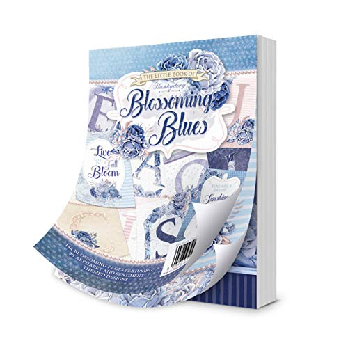 144 Pages LBK223 Hunkydory Little Book of Blossoming Blue