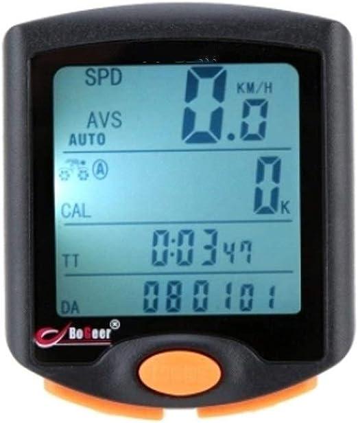 Cuentakilómetros para Bicicleta Inalámbrico bicicleta de la bici ...