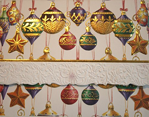Carol Wilson Fine Arts Inc Ornaments/Baubbles 10 Card Set Portfolio