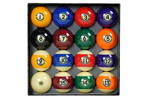 Aramith 57.2mm Tournament Billard Pool Ball Set/16 Balls - Tech Billiard Ball Set