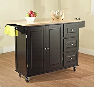 amazon kitchen island cart tms kitchen cart and island this portable 4032