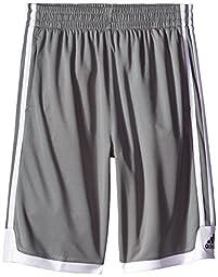 adidas Big Boys\' Key Item Short, Grey, Medium/10-12
