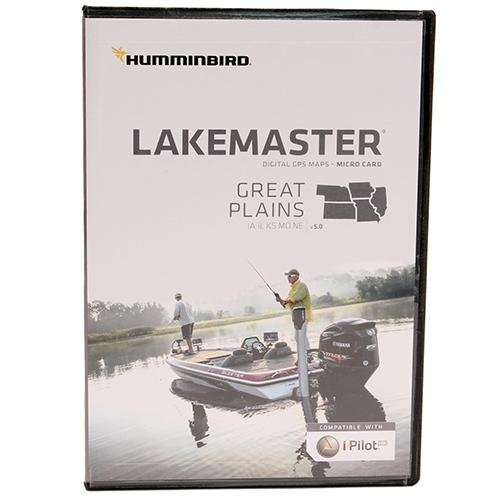 Humminbird LakeMaster Great Plains MicroSD w/Adapter (IA/IL/KS/MO/NE) 600017-3