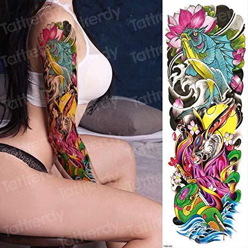 Tatuaje tigre gran tigre reloj lobo tótem ángel rosa loto brazo ...