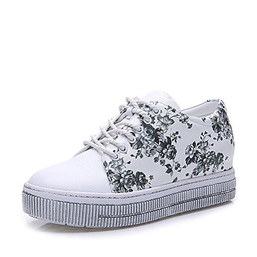 Zapatos ocasionales de las mujeres/Fondo plano zapatos/Zapatos de aumento de altura B