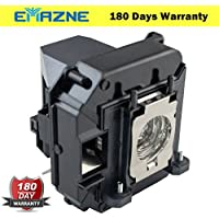 Emazne ELPLP61/V13H010L61 Projector Replacement Compatible Lamp With Housing For Epson D6150 Epson EB-430 Epson EB-435W Epson EB-910W Epson EB-915W Epson EB-925 Epson EB-C1020XN Epson EB-C1040XN