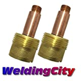 WeldingCity 2-pk Large Gas Lens Collet Body 995795 (1/8