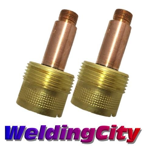 WeldingCity 2-pk Large Gas Lens Collet Body 45V64 (3/32