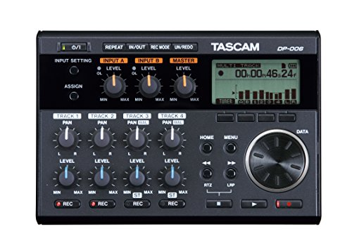 Tascam DP-006 Digital Portastudio Multitrack Recorder (Cd Recorder Microphone Input)