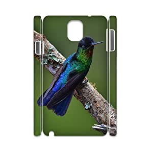 case Of Hummingbird 3D Bumper Plastic customized case For samsung galaxy note 3 N9000