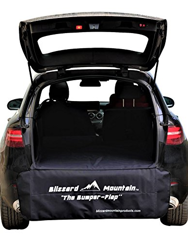 BLIZZARD MOUNTAIN Skier Outdoor Sports SUV Cargo Trunk Cover Liner Bumper Flap