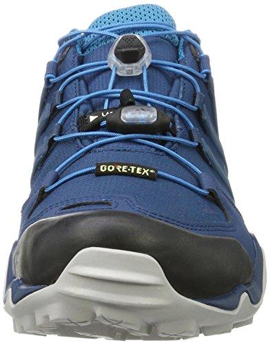 adidas Herren Terrex Swift R GTX Trekking-& Wanderhalbschuhe Blau (Blue Night/Blue Night/MYSTERY Petrol)