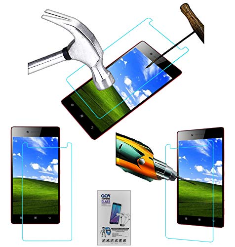 Acm Tempered Glass Screenguard Compatible with Lenovo Vibe Shot Z90a40 Mobile Screen Guard