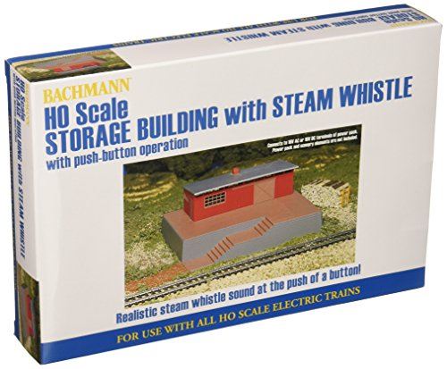 Bachmann Trains Storage Building with Steam Whistle Sound