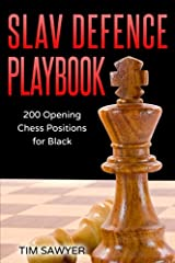 Slav Defence Playbook: 200 Opening Chess Positions for Black (Chess Opening Playbook) Paperback