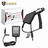 ZAP Light Charger Stun Gun Flashlight Wall Charger & Car Charger Kit. Direct Fit AC & DC Power Cords For PS Products Self Defense Weapon Taser Flashlights. Fits ZAP ZAPL, ZAPLE, ZAPLDAZ & RUGARFLASH