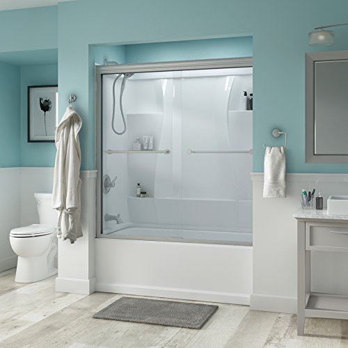 glass bath tub shower door - 3