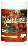 AIM Herbal Fiberblend Fiber Supplement & Colon Cleanser - 375 Grams Raspberry Powder by AIM International