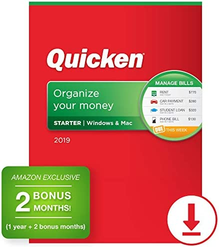 Quicken Personal Budgeting Membership Exclusive product image