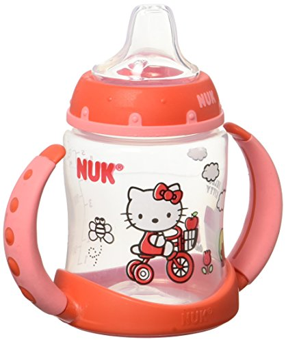 NUK Hello Kitty Silicone Spout Learner Cup - 5 Ounce