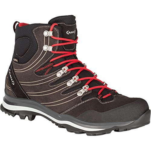 AKU Alterra GTX Hiking Boot - Men's Anthracite/Red, 10.5