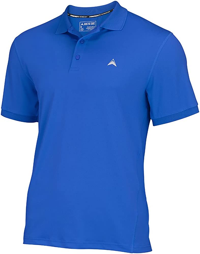 Arctic Cool Men's Instant Cooling Short Sleeve Polo