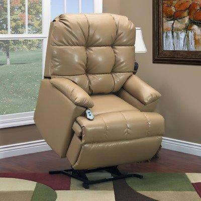 5600 Series Wall-a-Way Reclining Lift Chair Upholstery: Bonded Leather II (5600 Series Wall)