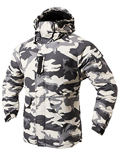 H2H Patterned Waterproof Puffer Double