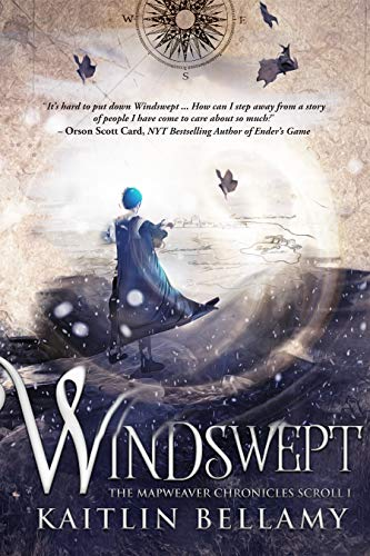 #freebooks – Windswept (Scroll 1 of The Mapweaver Chronicles) is FREE for a limited time on Kindle! Currently ranked #1 in two different categories!
