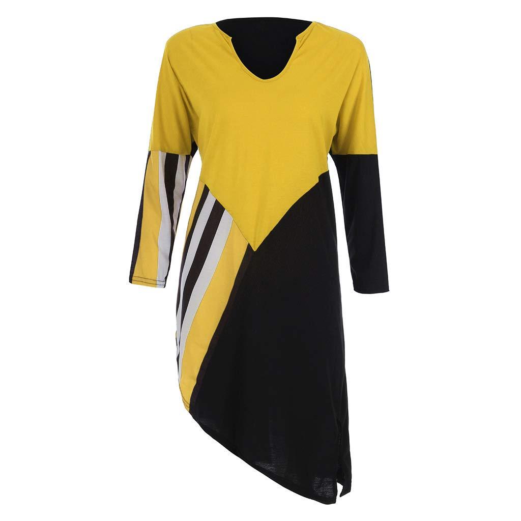 Women Boho Dresses Long Sleeve Boat Neck V Neck Dolman Top Side Shirring Plus Size Loose Fit