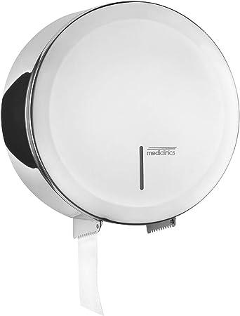 SemyTop ST-5030 Distributeur de papier toilette Jumbo Blanc//gris 330 x 310 x 125 mm