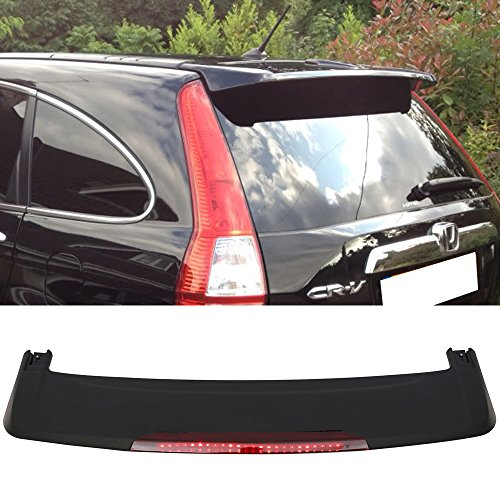 - Trunk Spoiler Fits 2007-2011 Honda Crv | Factory Style ABS Primer Matte Black Rear Deck Lip Wing Bodykits by IKON MOTORSPORTS | 2008 2009 2010
