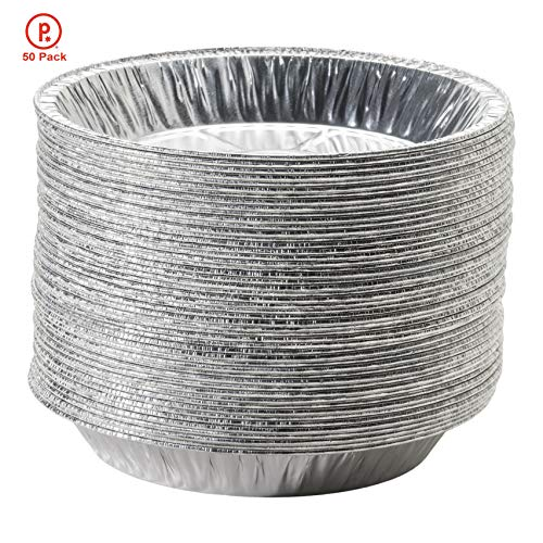 9 aluminum pie pans - 5