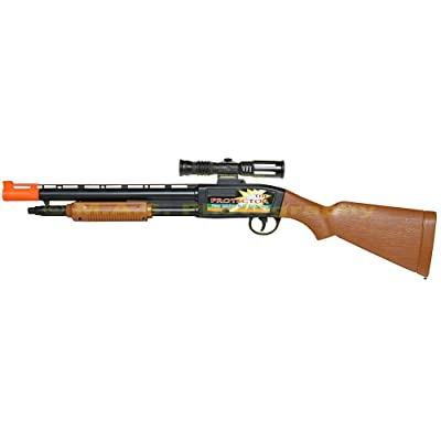 Soft Dart Rifle Shotgun Toy Pump Action Hunter 25 INCHES: Toys & Games