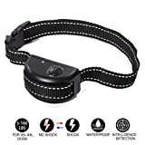 KOLAMAMA Bark Collar, 2018 Dog No Shock Bark Collar with Visual Adjustable Gear Anti Bark Control Devices for Small Medium Large Dogs 5-160lbs No Bark Collar Waterproof Shock Dog Collar