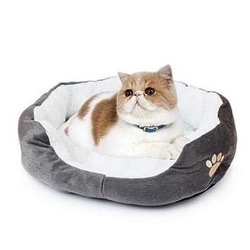 LOTONJT Camas para Mascotas Perros Pequeñas Suave y Acogedor Cama para Perros Cómodo Colchoneta para Perros