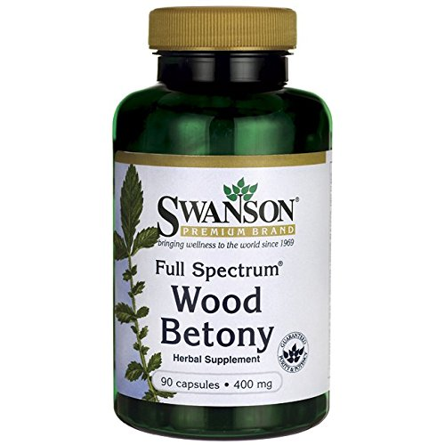 Full Spectrum Wood Betony 400 Caps