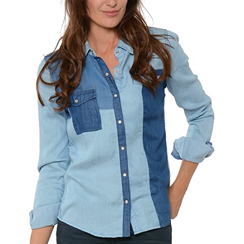 Mujer Kaporal Camisas Azul Para Kaporal Camisas qIxwP5IOp