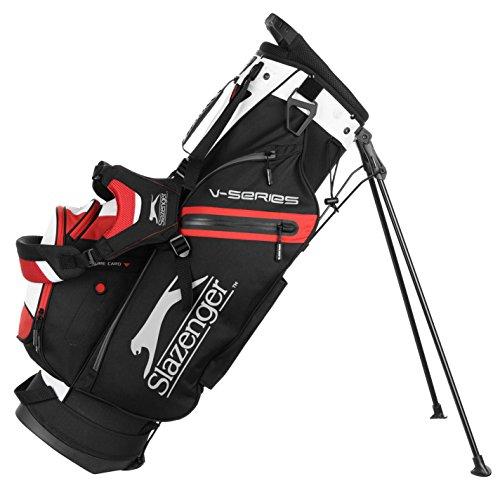 Slazenger Unisex Micro Stand Bag Black/Grey