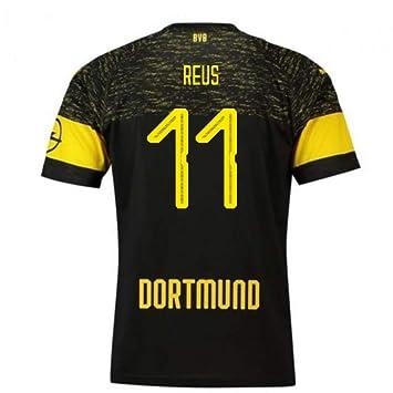 2018-2019 Borussia Dortmund Puma Away Football Soccer T-Shirt Camiseta (Marco Reus