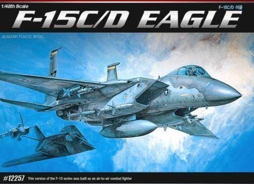 Model Kit F-15C/D EAGLE 1685/12257 NIB 12257 (F-15c Eagle Model)