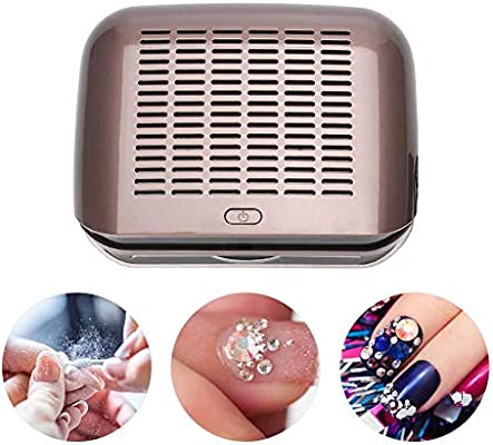 Aspirador de clavos, colector de polvo eléctrico para uñas ...