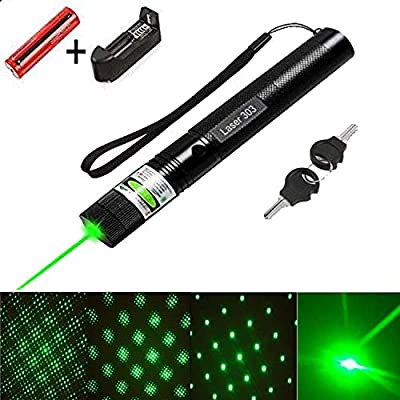 High power multi functional green pointer tactical hunting sight outdoor recreational camping outdoor hiking LED flashlight hand held flashlight astronomical hobby analysis interpreter sand table