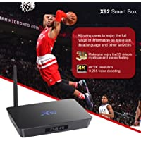 X92 amlogic s912 mini android 6.0 smart TV Box 3GB 32GB
