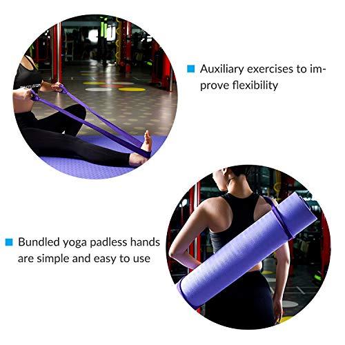 2Pack-Yoga-Mat-Shoulder-Strap-Adjustable-Stretch-Belt-Storage-Belt-Multifunctional-Portable-Non-slip-Cotton-Yoga-Mat-Strap-Yoga-Mat-Binding-Belt-without-yoga-mat