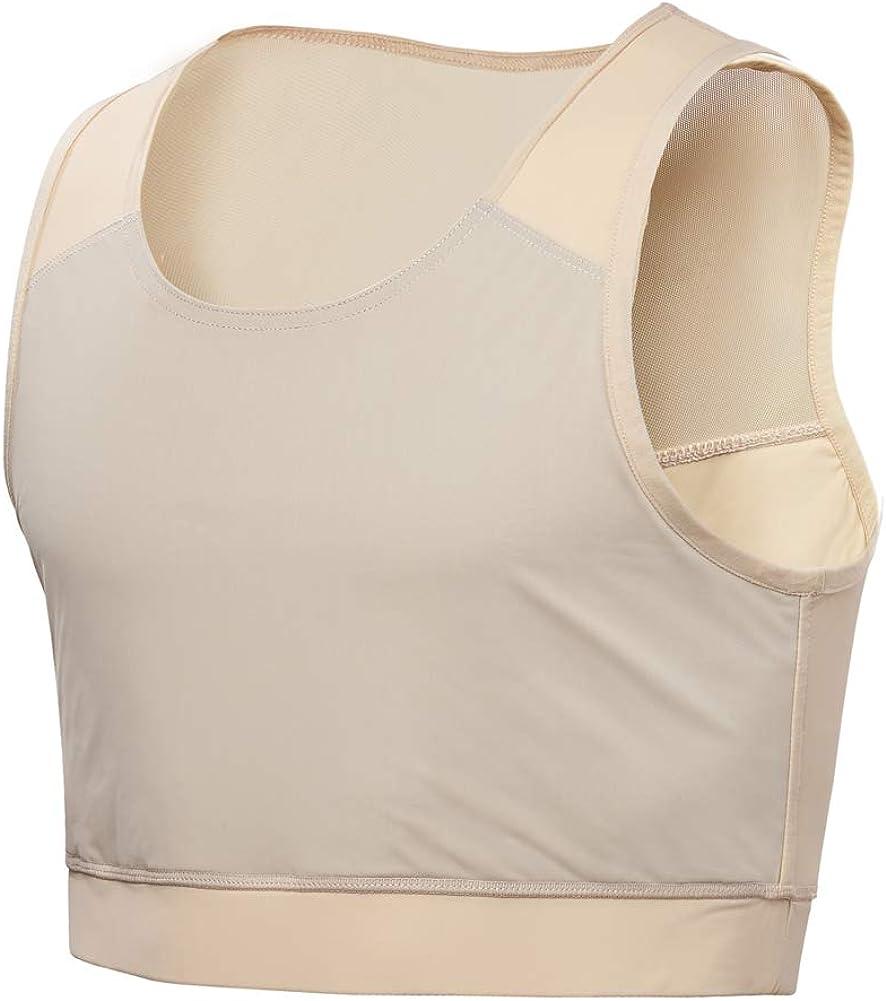 Idtswch Chest Binder For Transgender Breast Binder Half Ftm Binder chest compression Bra
