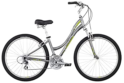 "Raleigh Bikes Venture 4.0 Step Thru Comfort Bike, 13"" /Xs Size, Silver, 13"" / X-Small"