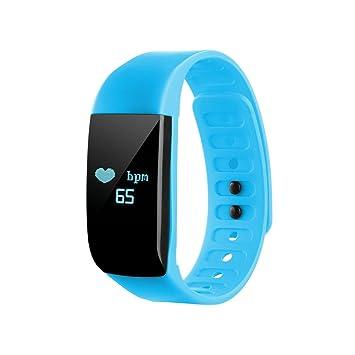 372f94515 Reloj de pulso NONMON para principiantes y aficionados al atletismo - azul  claro: Amazon.es: Deportes y aire libre