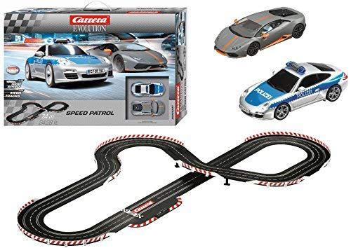 Carrera Evolution Speed Patrol Slot Car Race Set
