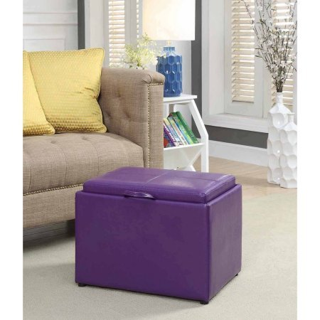 Price comparison product image Convenience Concepts Designs4Comfort Accent Storage Ottoman